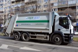 Salubritate fără vacanţă: Utilajele RER Vest vor colecta deşeurile după programul obişnuit