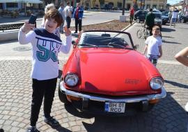 Retroparada primăverii: Mai multe maşini de epocă vor fi expuse în Cetate