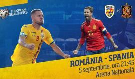 Cu Puşcaş şi Keşerü în lot, România se 'bate' cu Spania, joi seara, în preliminariile EURO 2020