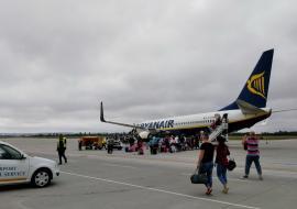 Bihorel: Zece efecte ale sistării curselor Ryanair