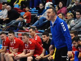 Handbalistele de la CSU Oradea, învinse de noua echipă a lui Sebastian Tudor