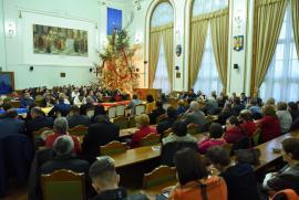 Libertate! Circa 200 de orădeni, la şedinţa solemnă de comemorare a 30 de ani de la Revoluţia din 1989 (FOTO)