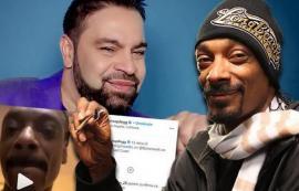 Rapper, fan de... Florin Salam! Snoop Dogg s-a filmat ascultând o manea românească (VIDEO)
