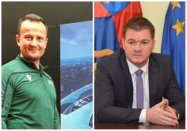 Marea împăcare din fotbalul bihorean: Radu Bitea şi Octavian Şovre au semnat un contract de mediere!