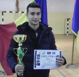 Judoka Vlad Luncan, desemnat, din nou, cel mai bun sportiv al anului la LPS Bihorul