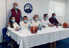 Clubul de baschet BCU Oradea şi-a prezentat noul staff