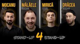 Stand-up comedy cu Sergiu Mirică,Bogdan Drăcea,Alex Mocanu şiBogdan Mălăele la Oradea