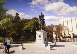 Bihorel: Mihai Viteazul pleacă la Catedrala Ortodoxă