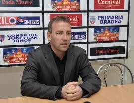 Stelian Farcău a fost cooptat în rândul antrenorilor secţiei de fotbal de la CSM Oradea
