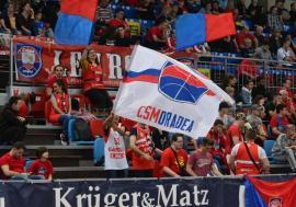 CSM CSU Oradea joacă sâmbătă meciul al treilea cu U BT Cluj, la Arena Antonio Alexe