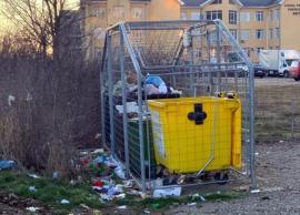 Prinşi în flagrant: 38 de orădeni, amendaţi pentru că au aruncat gunoaie pe lângă pubele
