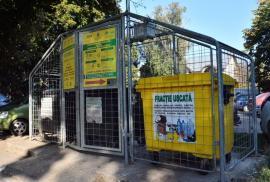 620 din ţarcurile pentru containere din Oradea, închise cu sisteme automate