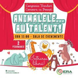 Şi animalele au... talent. Vino să te convingi la ERA Park Oradea!