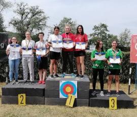 Două medalii pentru sportivele de la Redpoint Oradea, la Campionatul Naţional de tir cu arcul pentru cadeţi (FOTO)