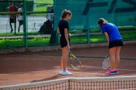 Naţionalele U16 la tenis de la Oradea au intrat în faza jocurilor de pe tabloul principal (FOTO)