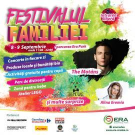 Festivalul Familiei: The Motans şi Alina Eremia vin la ERA Park Oradea!