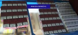 Ţigări de contrabandă descoperite într-un magazin din Aleşd. Ce a păţit proprietarul