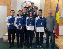 Cinci clasări pe podium pentru CSU Oradea la Campionatele Naţionale de tir cu aer comprimat pentru juniori