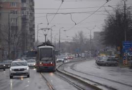 Staţionări tramvaie în 4 Ianuarie 2021