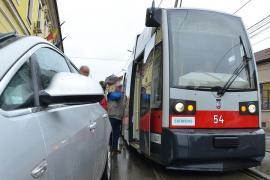 OTL: Staționări tramvaie în 2 aprilie