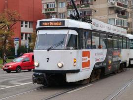 Cum vor circula tramvaiele şi autobuzele pe 24 ianuarie