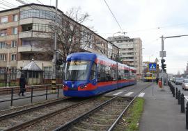 Staţionări tramvaie în 29.03.2021
