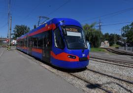 Al şaptelea tramvai Imperio va ajunge în următoarele zile în Oradea