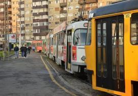 OTL:staţionări tramvaie în 3 decembrie 2019