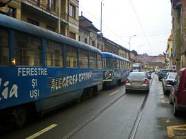 OTL: Staționări tramvaie în 3 octombrie