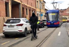 OTL: Staţionări tramvaie în 23 martie