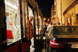 OTL: Staţionări tramvaie în 14 noiembrie