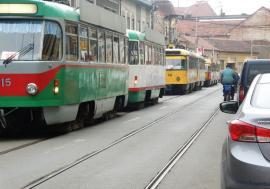 OTL: Staţionări tramvaie în 25 septembrie 2019