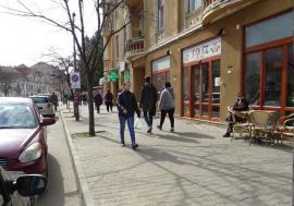 Încep lucrările: Corso-ul şi piaţeta de la Crişul vor fi unite printr-un trotuar