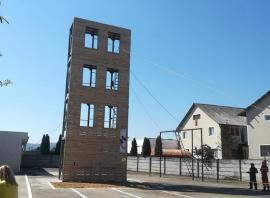 Turn de instrucţie, pentru antrenamentele pompierilor din Aleşd (FOTO / VIDEO)