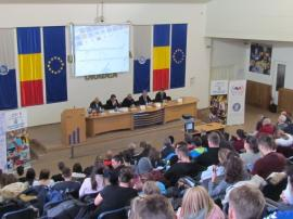 """Cristian Gațu către elevii de la """"Dacia"""": """"Faceți sport, nu păcăliți orele de educație fizică"""""""