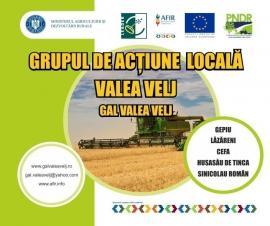GAL Valea Velj anunță public lansarea sesiunii de cerere de proiecte LEADER