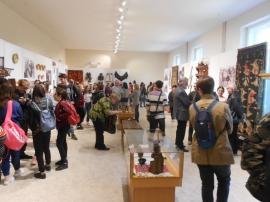 'Ştim să respectăm ceea ce este frumos!'. Expoziţia etnografică Basarabia-Crişana a fost deschisă la Muzeul Ţării Crişurilor (FOTO)