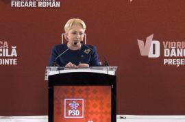 Viorica Dăncilă, la conferinţa de la Parlament: A refuzat să spună dacă Dragnea a fost 'toxic' pentru ţară şi s-a dat de gol că nu ştie cum se calculează aria unui cerc (VIDEO)