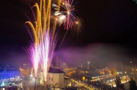 Se pregătesc artificiile: Programul din seara de Revelion în Piaţa Unirii din Oradea