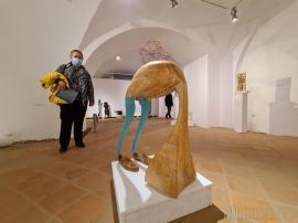"""Unde ieșim săptămâna asta în Oradea: Ultimele zile ale expoziției de sculptură contemporană """"Volumetric"""""""