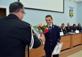 Ziua Poliției, la Oradea: Peste 100 de avansări în grad și multe diplome pentru poliţiştii merituoşi. Nu avem 'poliţistul anului'! (FOTO)