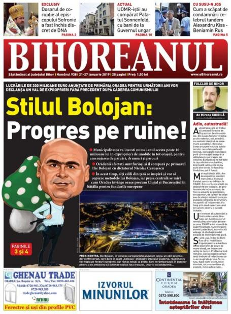 Nu ratați noul BIHOREANUL tipărit: Val de exproprieri fără precedent în Oradea