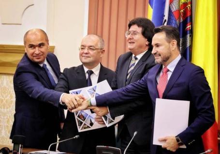 Vestul şi... restul! Primarii din Oradea, Timişoara, Arad și Cluj au înfiinţat Alianţa Vestului ca să atragă mai uşor fonduri europene