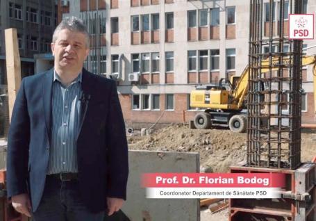Bodog mincinosul: Fostul ministru PSD al Sănătății se laudă cu spitalele din Oradea, fără să aibă vreun merit (VIDEO)