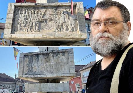 Măcel uitat: Monumentul dedicat răscoalei înăbuşite în sânge la Aleşd se distruge sub ochii autorităţilor (FOTO)