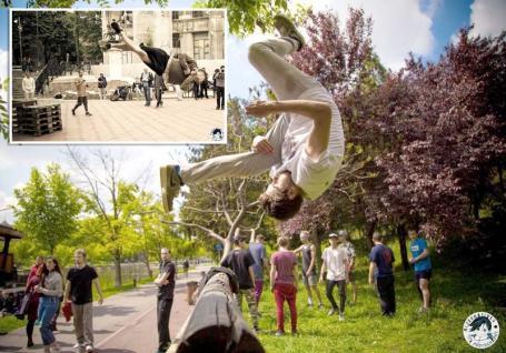 Vin Oamenii-Păianjen! Cel mai mare eveniment de parkour şi freerunning ajunge la Oradea