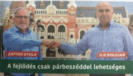 """Candidaţii PPMT îşi fac reclamă cu... Ilie Bolojan: """"Sunt un candidat norocos, pentru că îl cunosc"""" (FOTO)"""