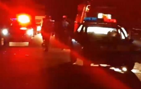 Accident cu maşina Poliţiei pe DN 79, în Bihor: Doi poliţişti, răniţi în timp ce încercau să blocheze în trafic un fugar cu Audi! (VIDEO)
