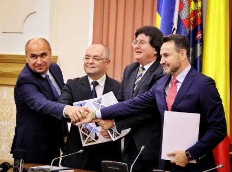 Primarii din Oradea, Cluj, Timişoara şi Arad au semnat Alianţa Vestului. Ilie Bolojan: Vrem ca cei care caută un viitor mai bun să-l găsească în România (VIDEO)