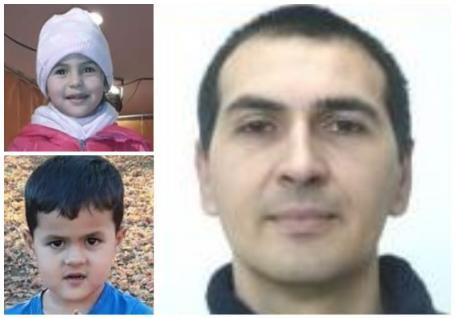 Poliţia îi caută: Un tată din Bihor şi cei doi copii gemeni ai săi au plecat de acasă șinu s-au mai întors